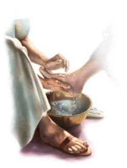 humility of footwashing