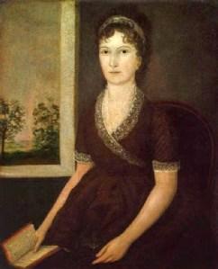 13b Joshua Johnson (American artist, 1763–1824) Sarah Ogden Gustin