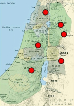 Image result for cities of refuge