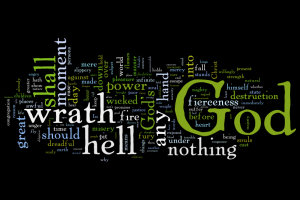 sinners-in-the-hands-of-an-angry-god-wordle