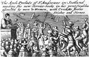 350px-Riot_against_Anglican_prayer_book_1637
