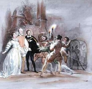 Scene-From-The-Huguenots-1836-By-Giacomo-Meyerbeer-1791-1864