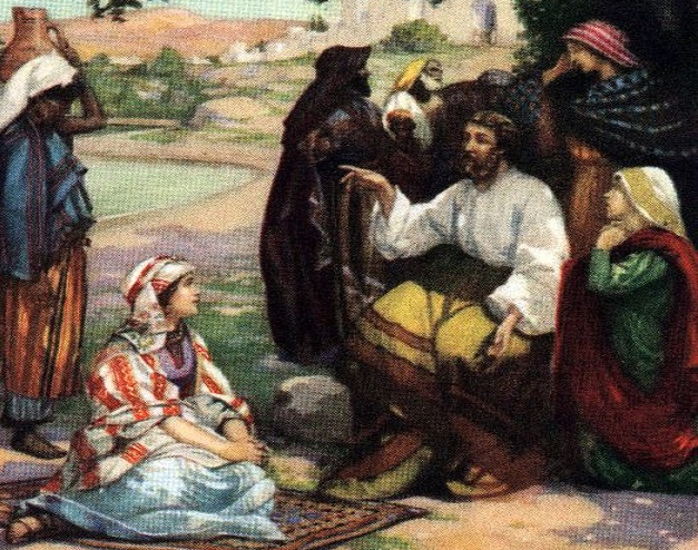 Paul Teaches Lydia Acts 16:14