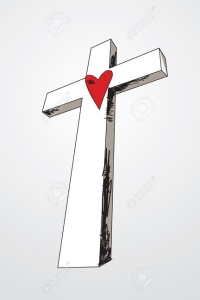 9932288-hand-drawn-cross-with-a-red-heart-in-the-middle