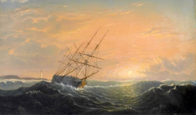 a-storm-breaking-away-ship-at-anchor-on-a-lee-shore